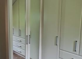 Ivory Slab Dormer Wardrobe