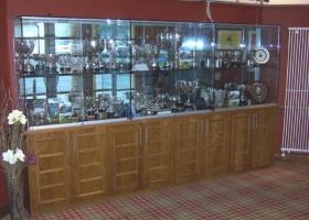 Oak Trophy Cabinet